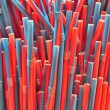 Colourful Straws — Stock Photo