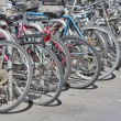 Bicycles in the City — Stock Photo