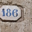 Building Identification Number — Foto Stock