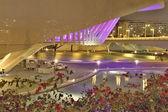City of Valencia at Night, Spain — Stock Photo
