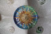 Ceramic Mosaic Pattern — Stock Photo