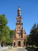 Streets of Sevilla, Spain — Stock Photo