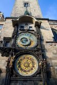 Prague Old Town Square Clocks — Stock Photo