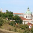 Prague castle and its gardens — Stock Photo