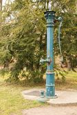 Prague old water pipe — Stock Photo