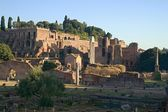 Rome empire ruins — Stock Photo