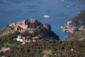 The hill top village of Eze — Stock Photo