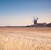 Cley windmill — Stock Photo