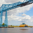 Stock Photo: Middlesbrough transporter bridge