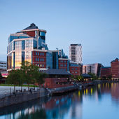 Salford quays — Stockfoto