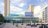 Salford Quays Media City — Stock Photo