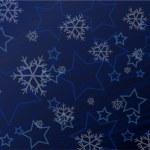 Winter background illustration — Stock Vector