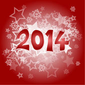 New year 2014 — Stock Vector