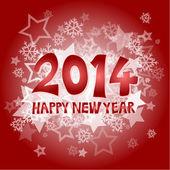 Nieuwe jaar 2014 — Stockvector