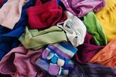 Colorful clothes — Stock Photo
