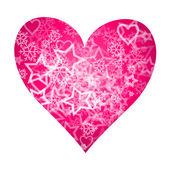 Pink Heart — Stock vektor