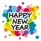 с новым годом — Cтоковый вектор