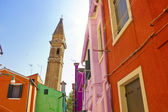布拉诺,威尼斯,意大利 — 图库照片