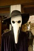 Horror mask, venice, italy, helloween — Stock Photo