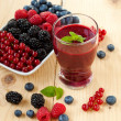 Berry smoothie — Foto de stock #30541101
