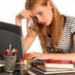 Tired of studying — Stock Photo #30670971