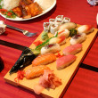 Stock Photo: Assorted sushi 2