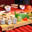 Stock Photo: Assorted sushi