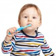 Brush your teeth everyday — Stock Photo