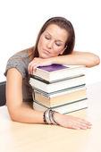 Student nap — Stock Photo