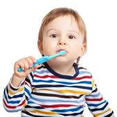 Brush your teeth everyday — Stock Photo