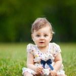 Cute baby girl — Stock Photo