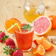 Fresh juice — Stock Photo #42129609