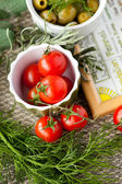 Mediterranean recipe — Stock Photo