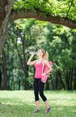 Deportes e hidratación. — Foto de Stock