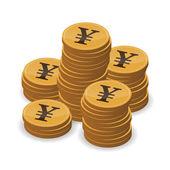 货币资金的概念 illustraion — 图库矢量图片