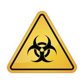 Illustrazione relative al rischio biologico — Vettoriale Stock