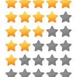 Rting stars set — Stock Vector #35026259