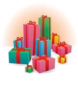 Geschenke — Stockvektor