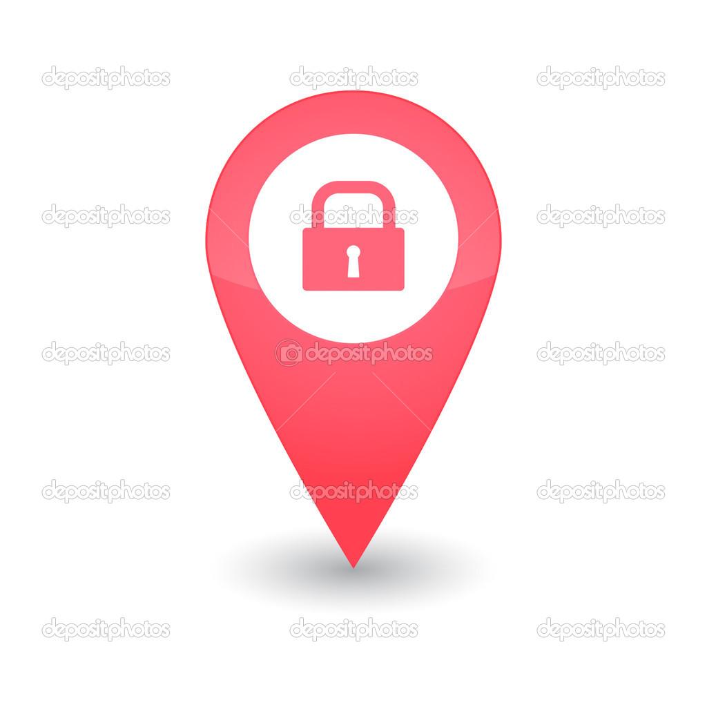 带有图标的地图标记 — 图库矢量图片 #36933711