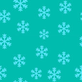 Snow flakes seamless pattern — Stock Vector