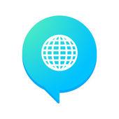 Comic balloon icon — Stock Vector