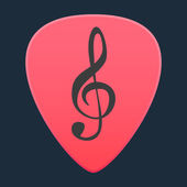 Guitar pick icon — Stock Vector