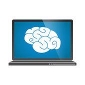 Laptop icon — Cтоковый вектор