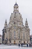 Frauenkirche Dresden — Stock Photo