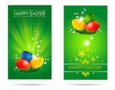 快乐复活节卡 — 图库矢量图片