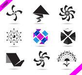 Set of logos — Stock Vector