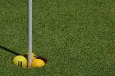 Golf terrain — Stock Photo