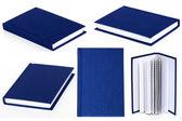 Blue book — Stock Photo