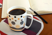 Coffe book — Stock Photo