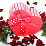 Love gift — Stock Photo